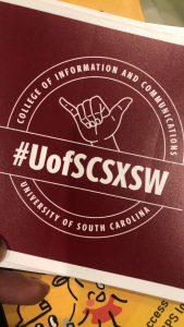 Drew Hill UofSC Sticker